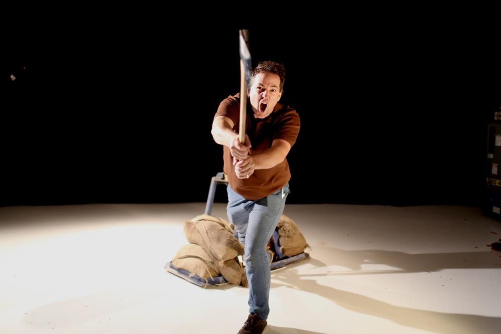 Axeman Nik Lachajczak (Photo: Paula Binnie)