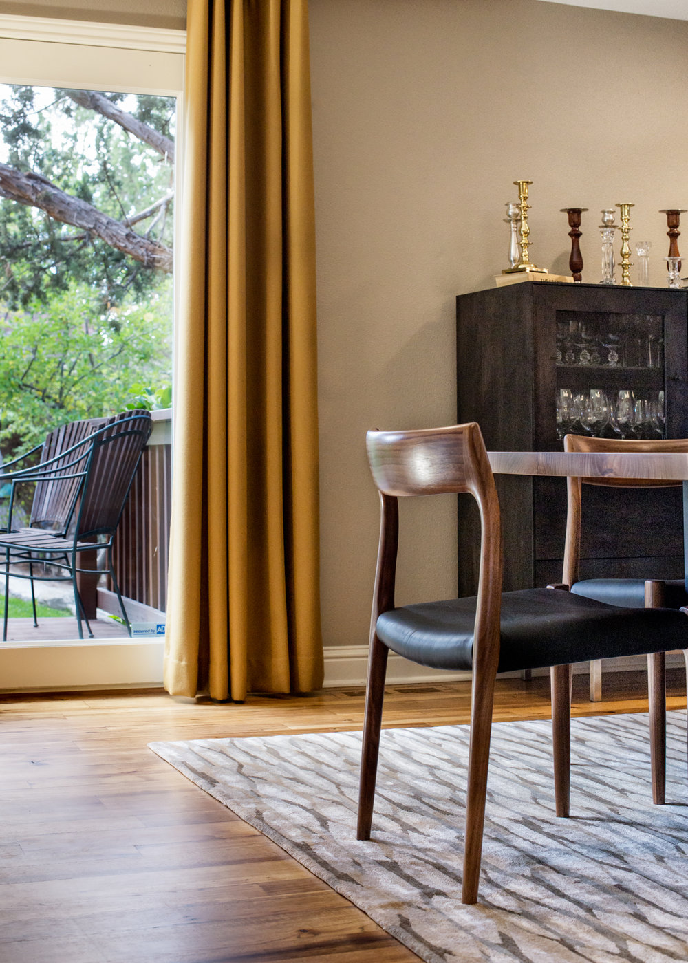 Contemporary Dining Room accessory selection and interior design - Reno, Nevada - Kovac Design