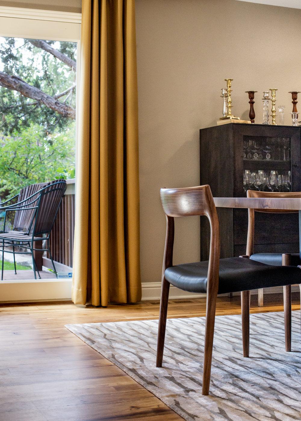 Contemporary Dining Room accessory selection and interior design - Reno, Nevada - Kovac Design