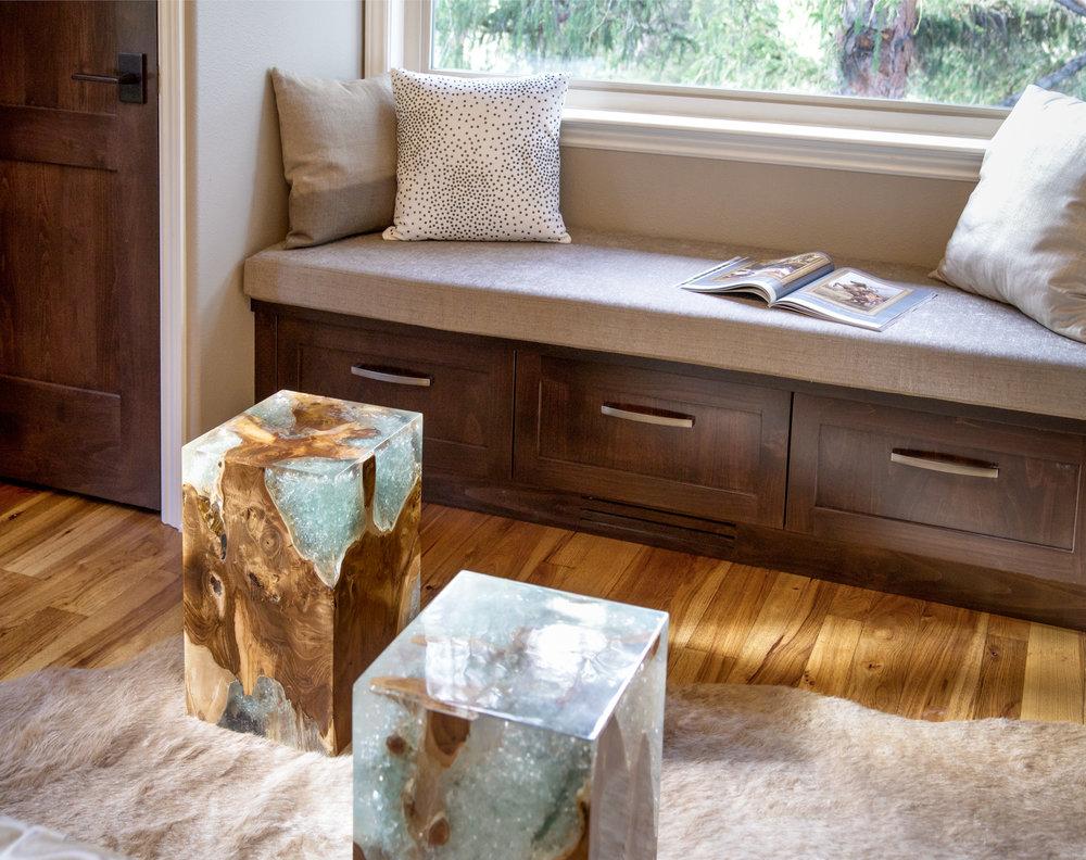 Contemporary Living Room renovation and interior design - Reno, Nevada - Kovac Design