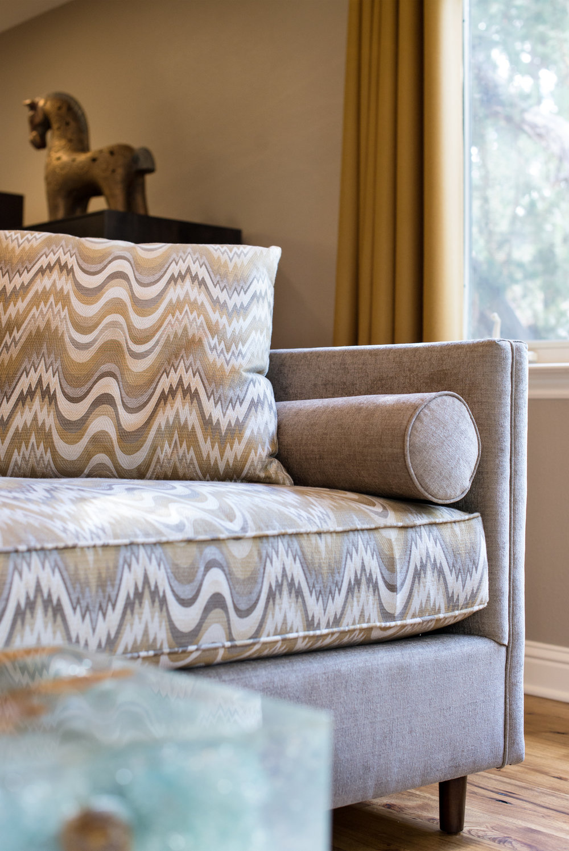 Contemporary Dining Room fabric selection and interior design - Reno, Nevada - Kovac Design