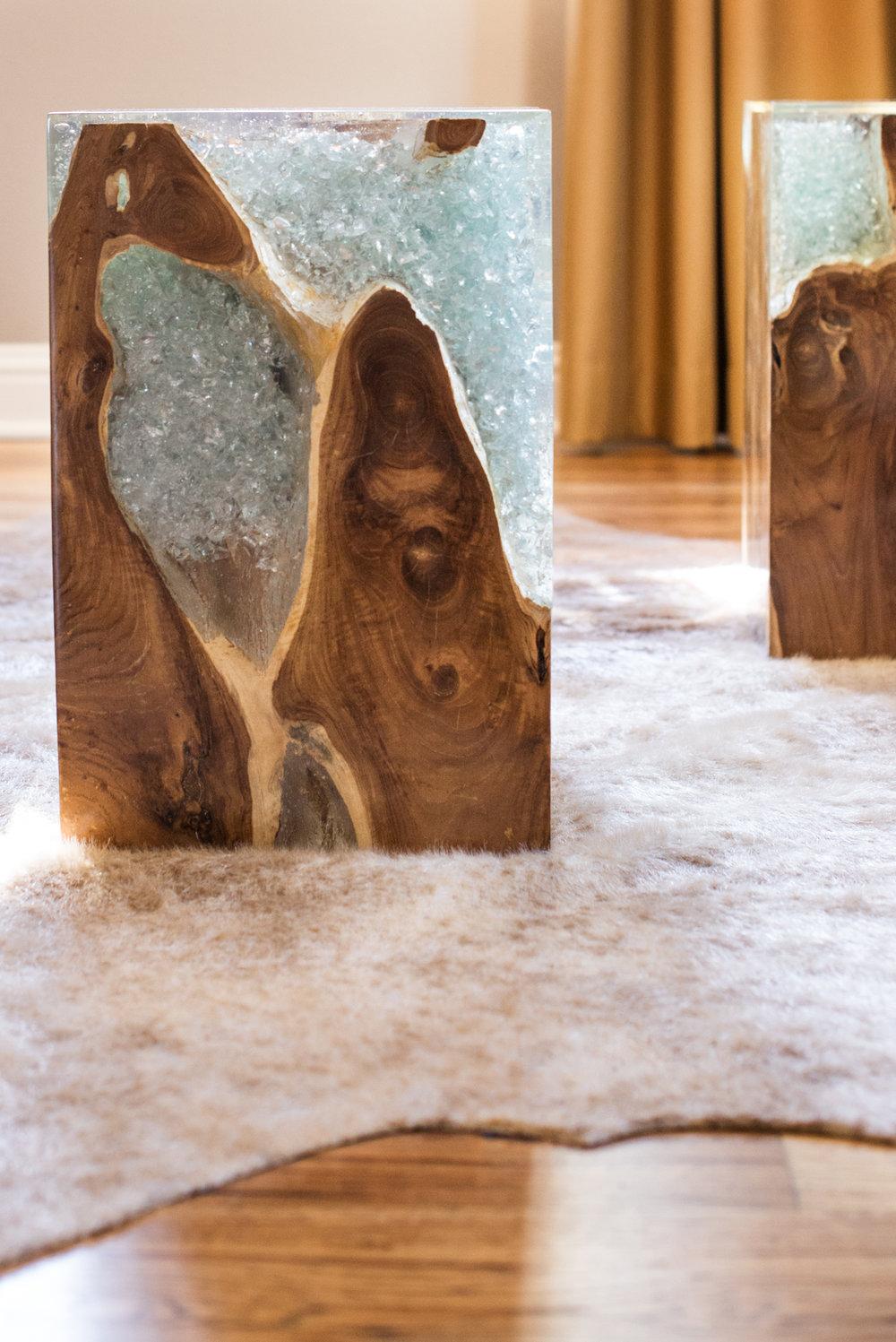 Contemporary Living Room furnishing selections and interior design - Reno, Nevada - Kovac Design