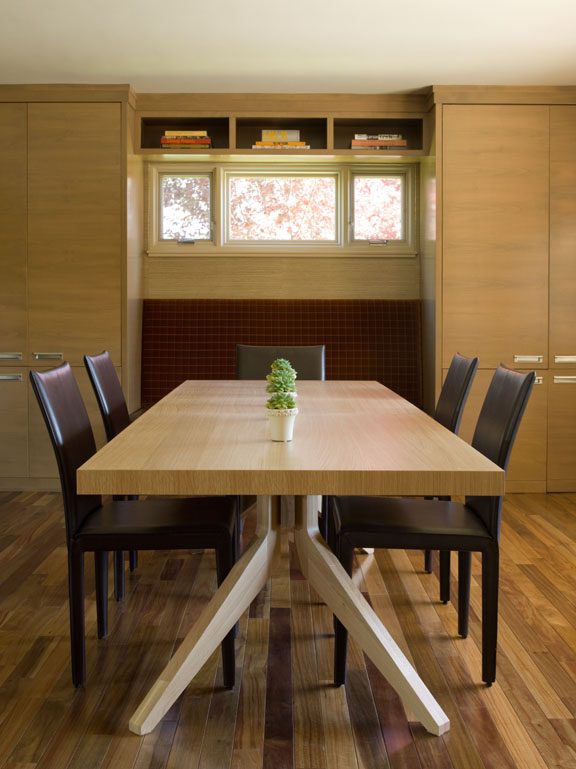 Contemporary Mid Century Modern Dining Room Renovation - Reno, Nevada - Kovac Design