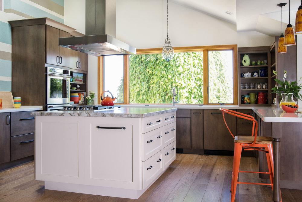 Open Kitchen renovation and interior design - Reno, Nevada - Kovac Design