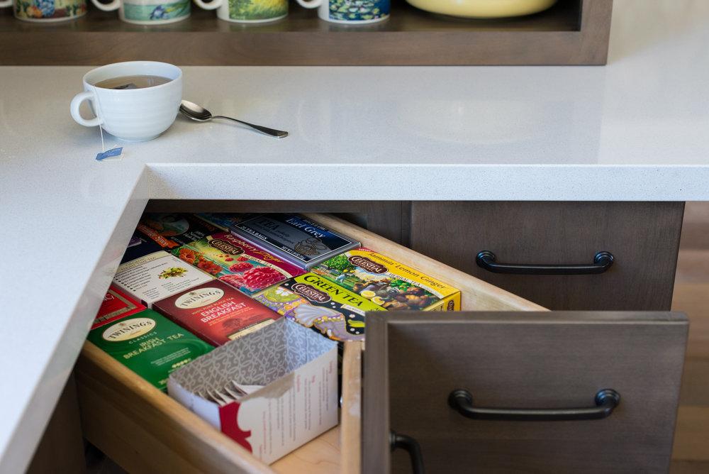Kitchen storage and interior design - Reno, Nevada - Kovac Design