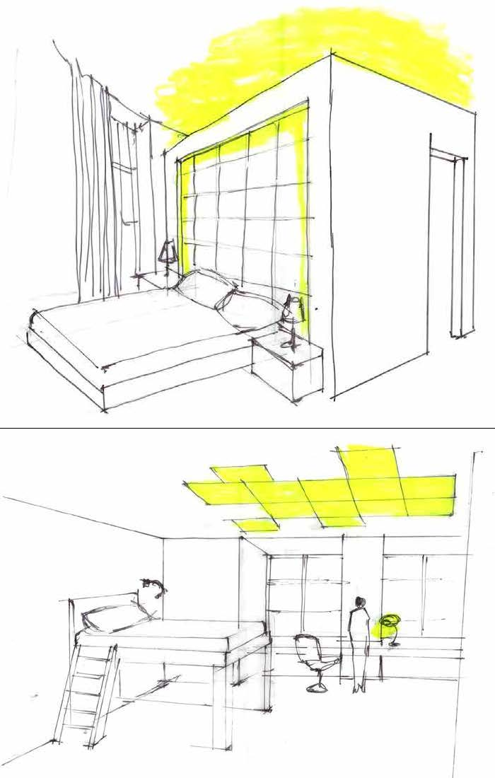 Kids Bedroom Drawing pr cpw — perinat interior design