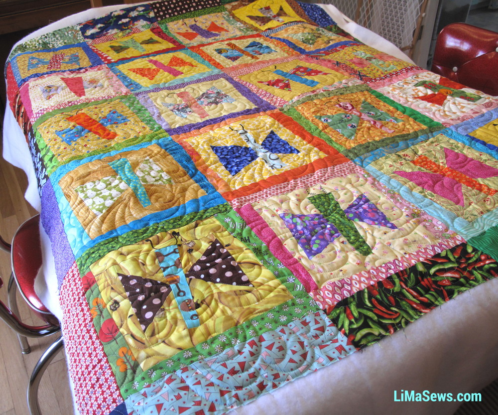 Barbara's Butterfly Baby Quilt 1