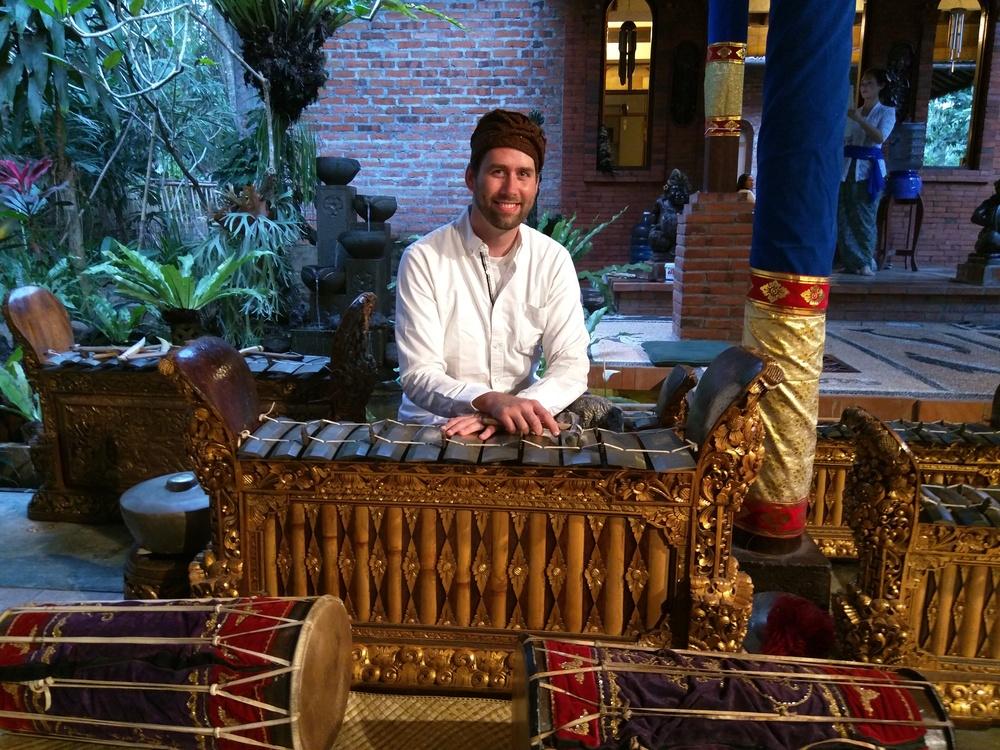 Jesse McQuarters in Bali, Indonesia