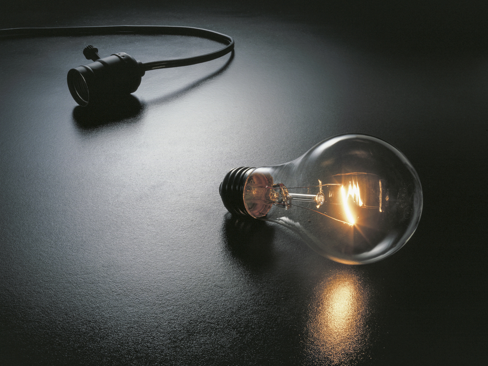 """The Great Idea,"" image for lighting catalog Copyright © Kipp Baker, All rights reserved"