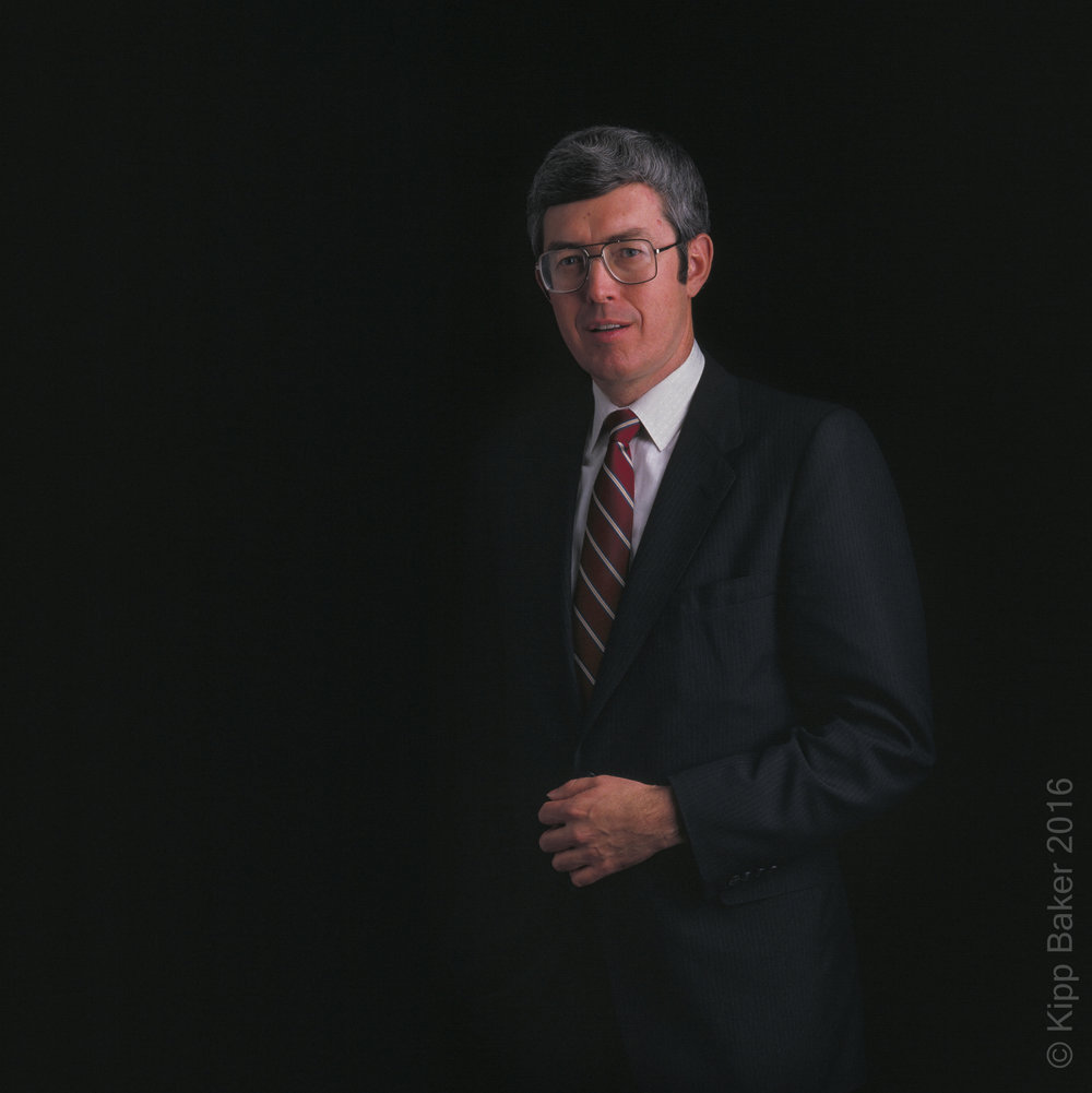 Executive portrait for annual report