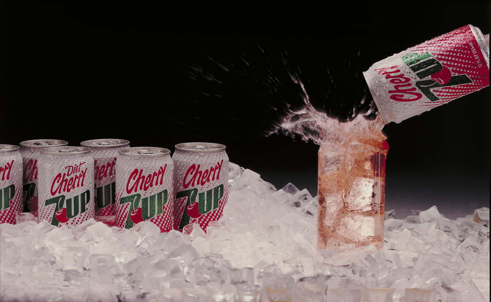 8x10 film image used to introduce new soft drink Copyright © Kipp Baker, All rights reserved