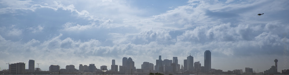 Skyline of Dallas, Texas Copyright © Kipp Baker, All rights reserved.