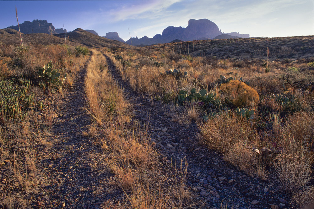 View of Big Bend National Park Copyright © Kipp Baker, All rights reserved.