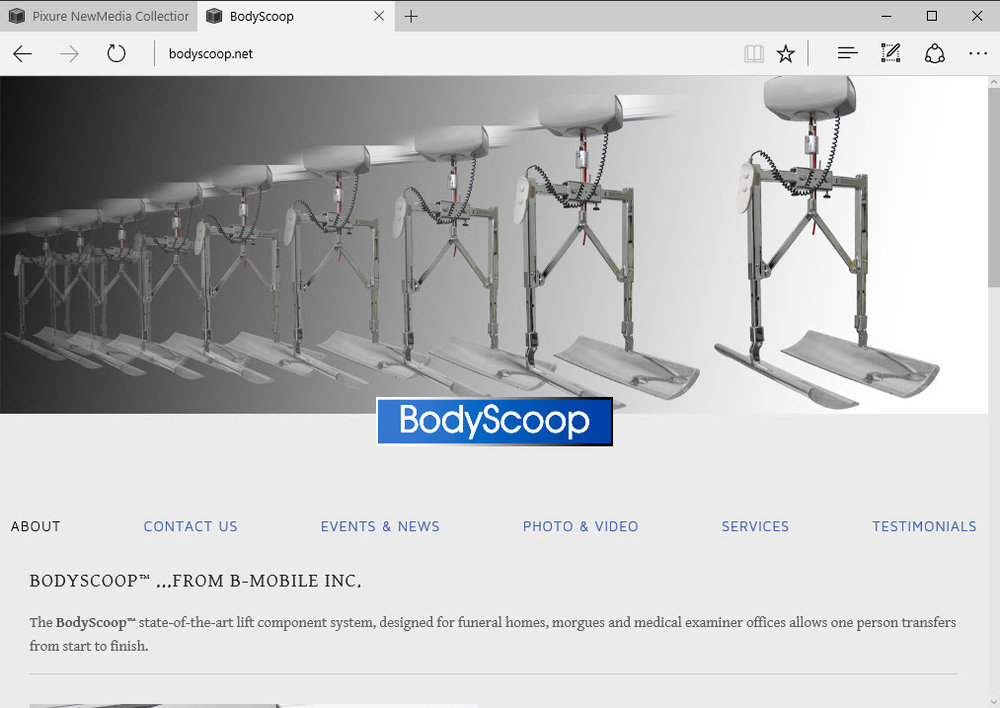 BodyScoop home page