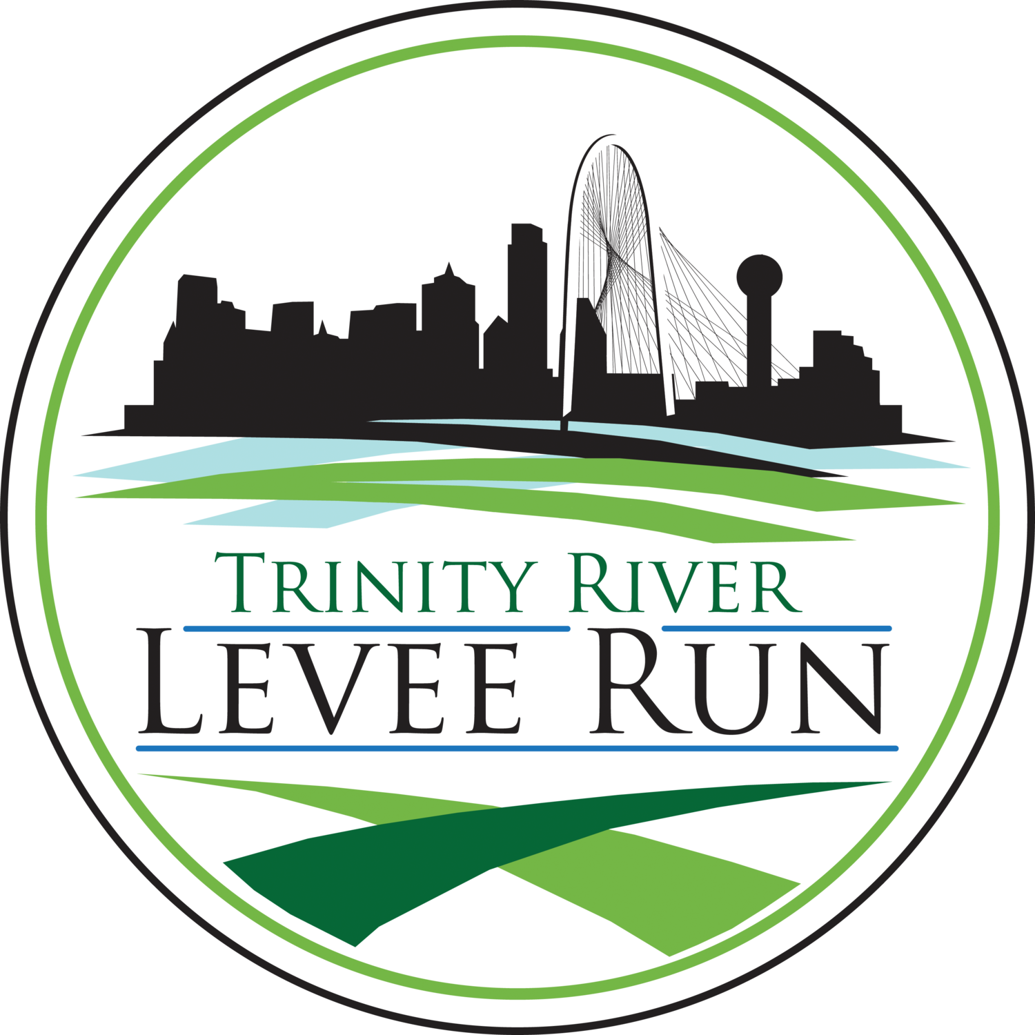Trinity River Levee Run and All Out Trinity