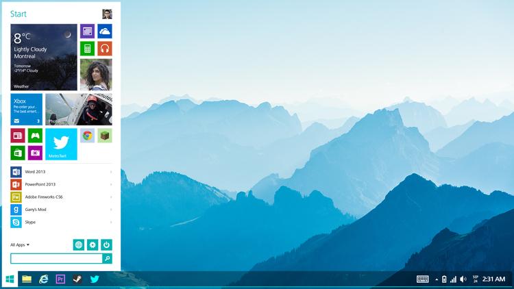 """Designer apresenta versão """"amigável"""" do Windows 8"""