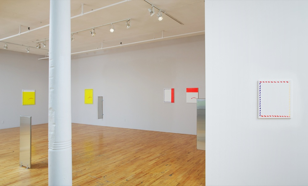 Paul Cowan  DID NOT WANT TO [—?—] HIS [—?—] OF [—?—] 2012 Clifton Benevento, New York  Installation view