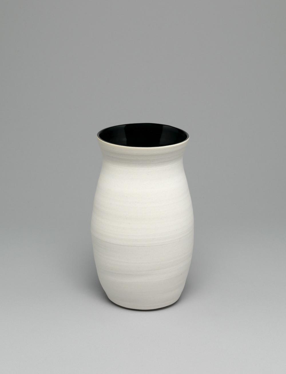 """Shio Kusaka  Untitled (hole 7)  2011   Porcelain   7 1/4"""" x 4 1/2"""" x 4 1/2"""" SK303"""