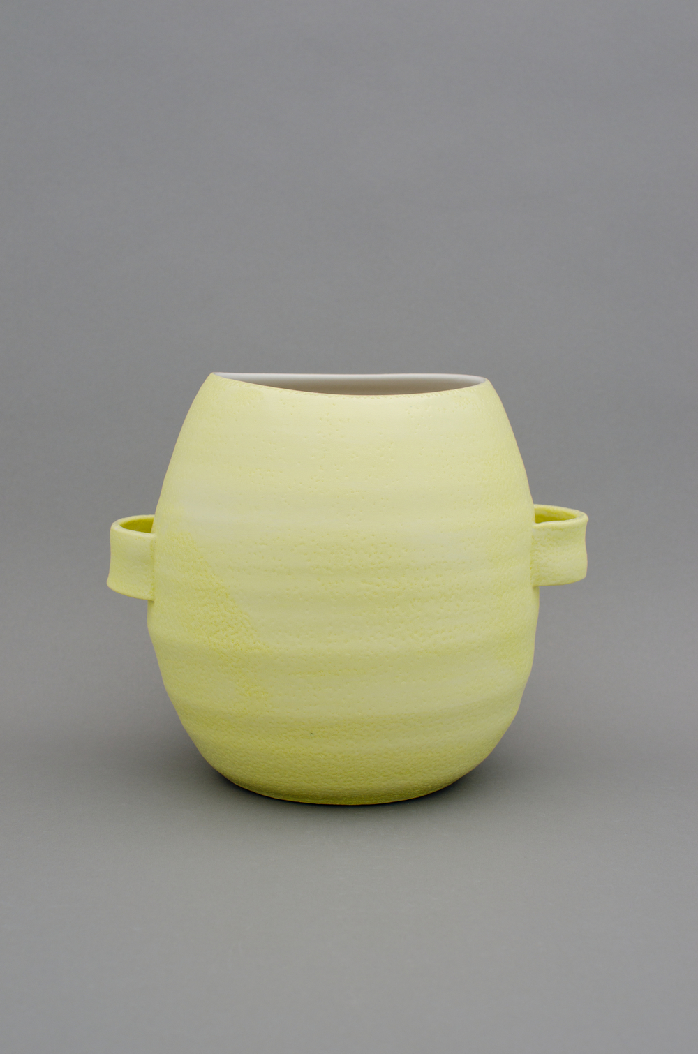 Shio Kusaka  Untitled (handle 1)  2012 Porcelain 9h x 10 1/4w x 8 1/4d in SK389