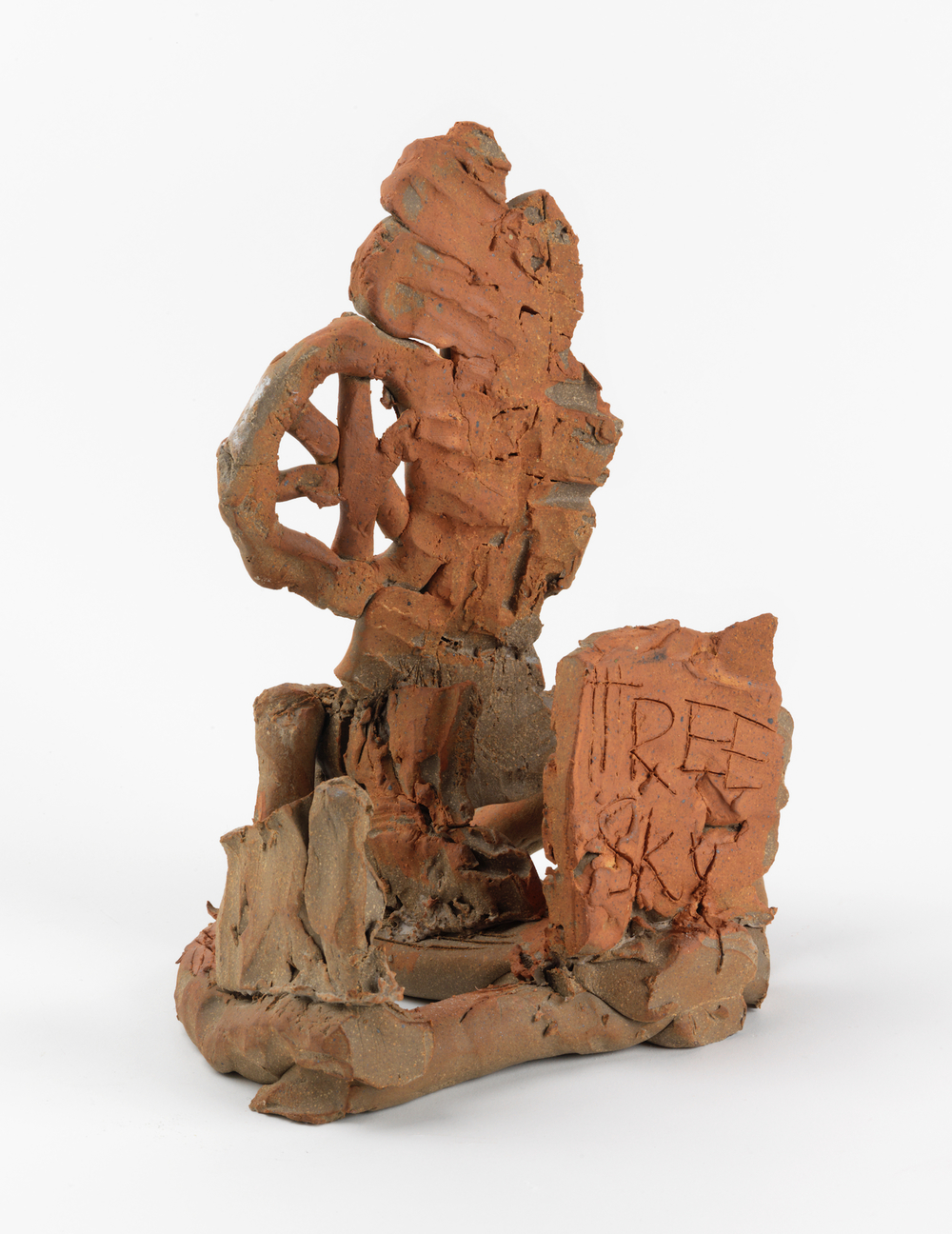William J. O'Brien  Untitled  2011 Glazed ceramic 12h x 9 ¼w x 8 ½d in WOB730