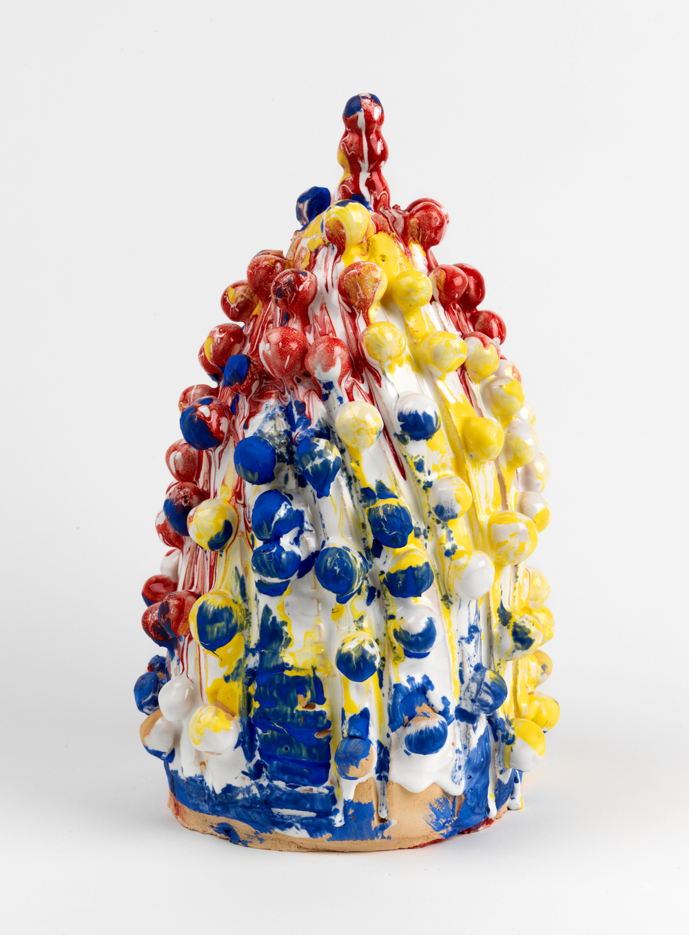 William J. O'Brien  Untitled  2011 Glazed ceramic 16h x 9 ½w x 10d in WOB842