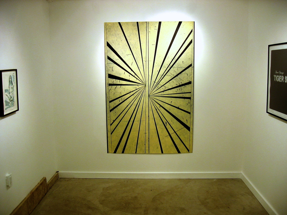 Mark Grotjahn, Richard Hawkins, Jay Heikes 2006 Shane Campbell Gallery, Oak Park Installation View