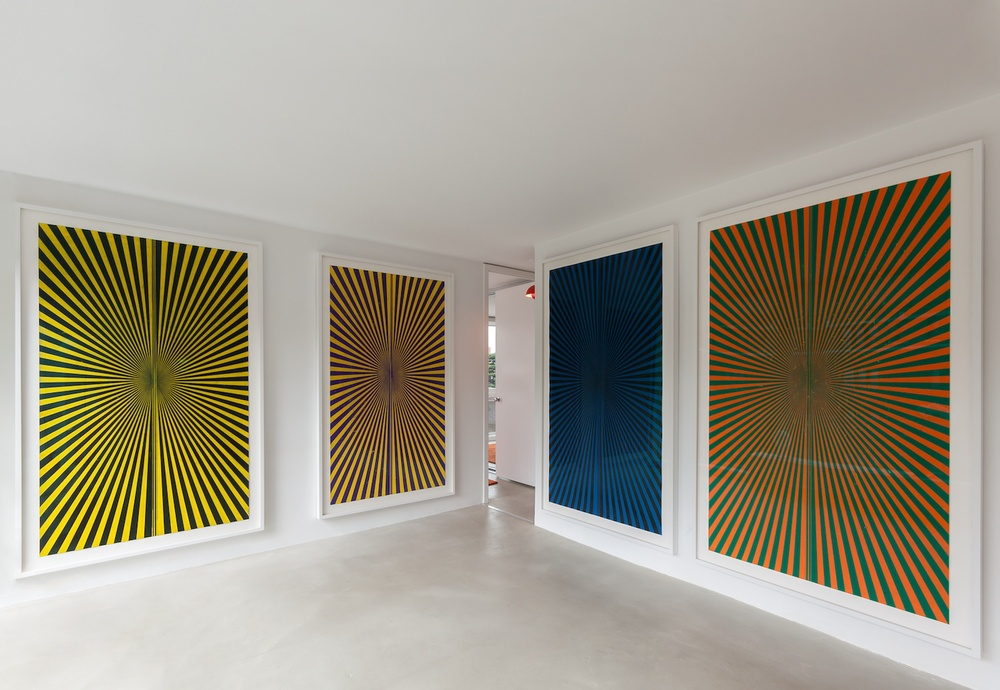 Mark Grotjahn 2013 Shane Campbell Gallery, Lincoln Park Installation View