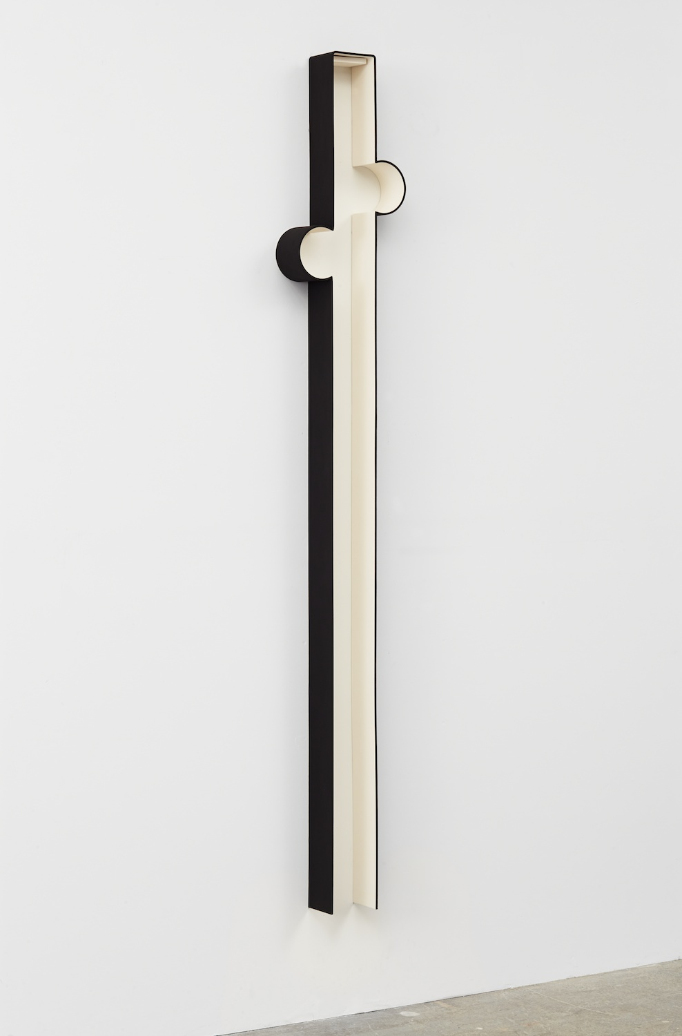 Lisa Williamson  Bump, Carol  2013 Acrylic on powder-coated steel 80h x 14w x 4d in LW118