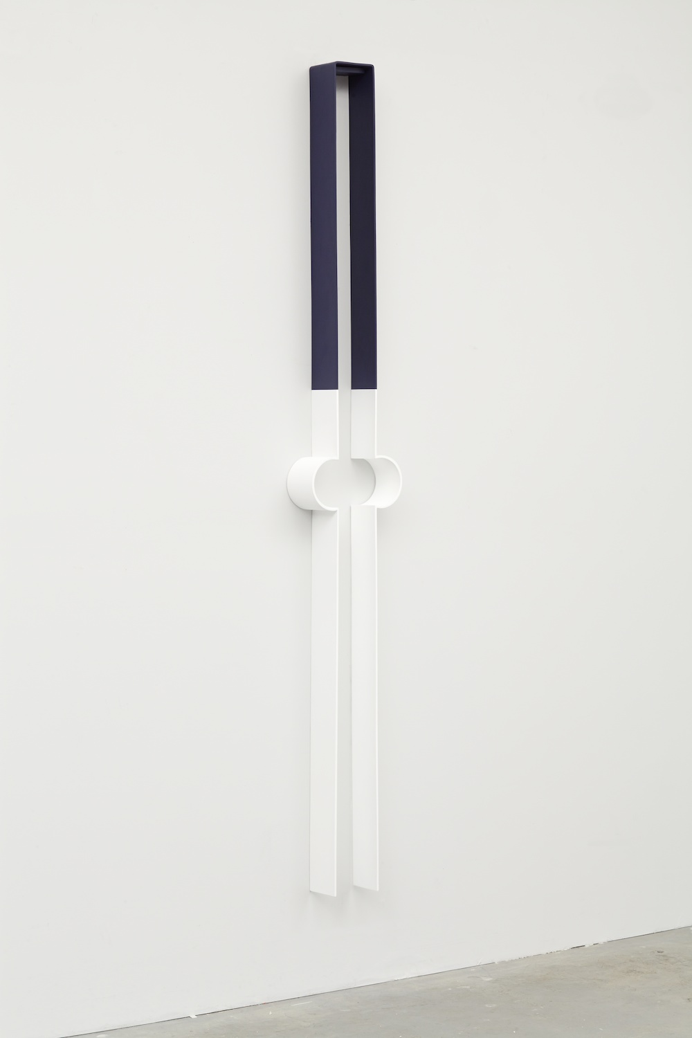 "Lisa Williamson Bump, Bob 2013 Acrylic on powder-coated steel 80"" x 14"" x 4"" LW120"