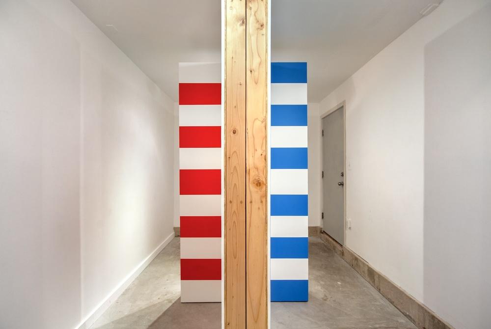 Brendan Fowler, Jan van der Ploeg 2013 Shane Campbell Gallery, Oak Park Installation View