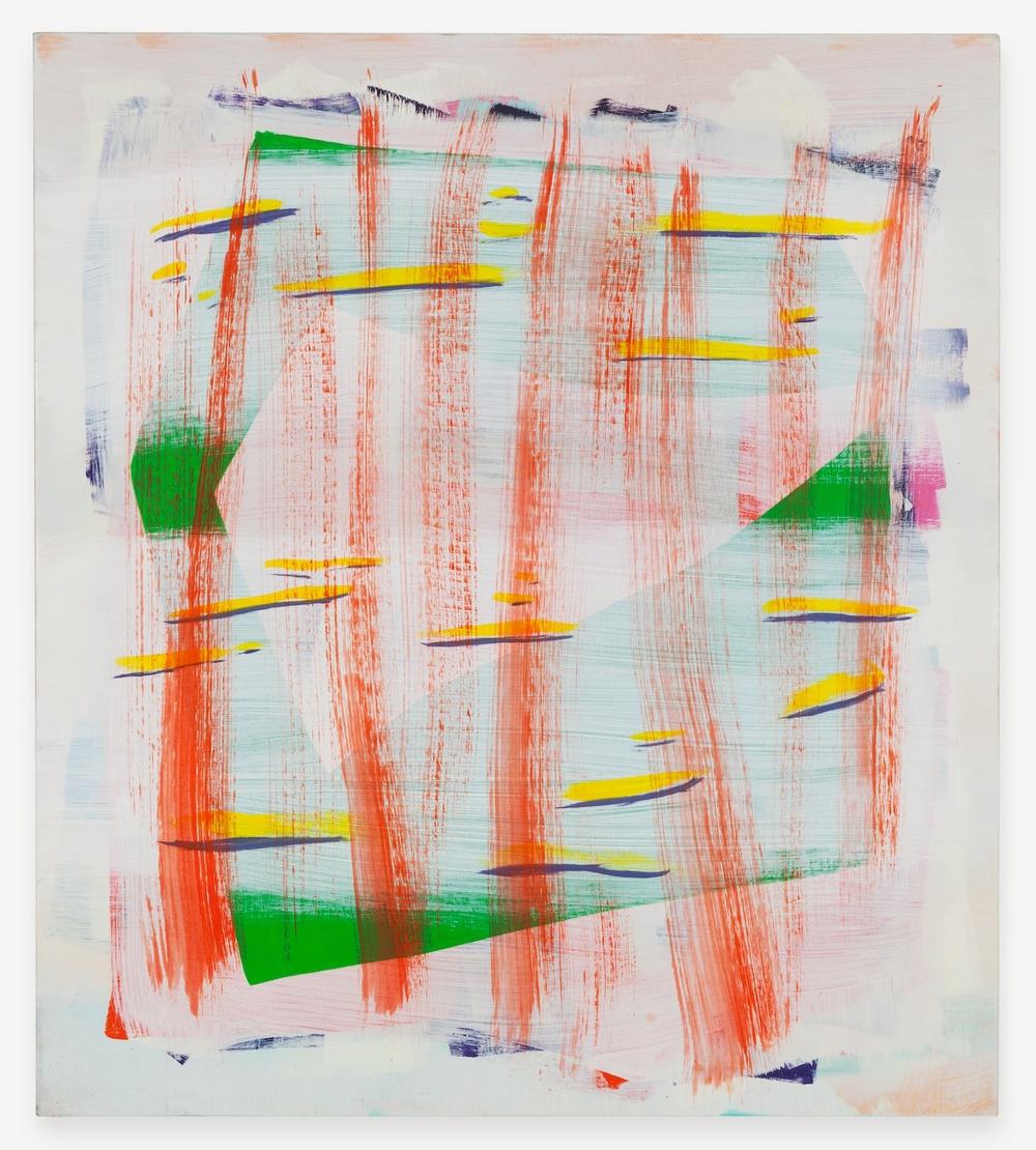 "Jon Pestoni Working in Circles 2012 Oil on canvas 45"" x 40"" JP125"