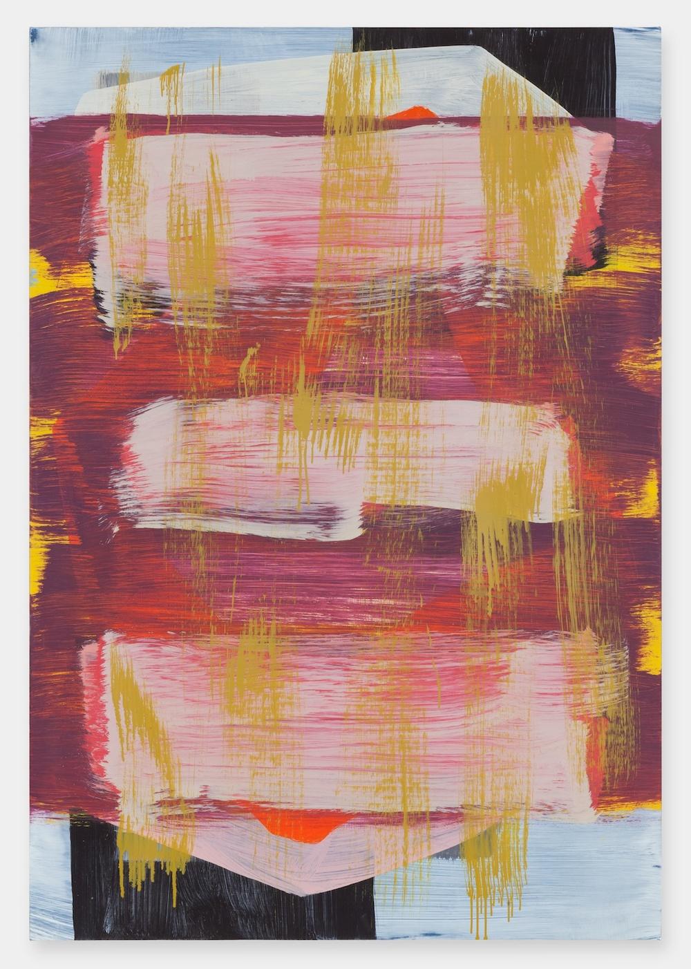 """Jon Pestoni Tartar Jacket 2012 Oil on canvas 45"""" x 31"""" JP128"""