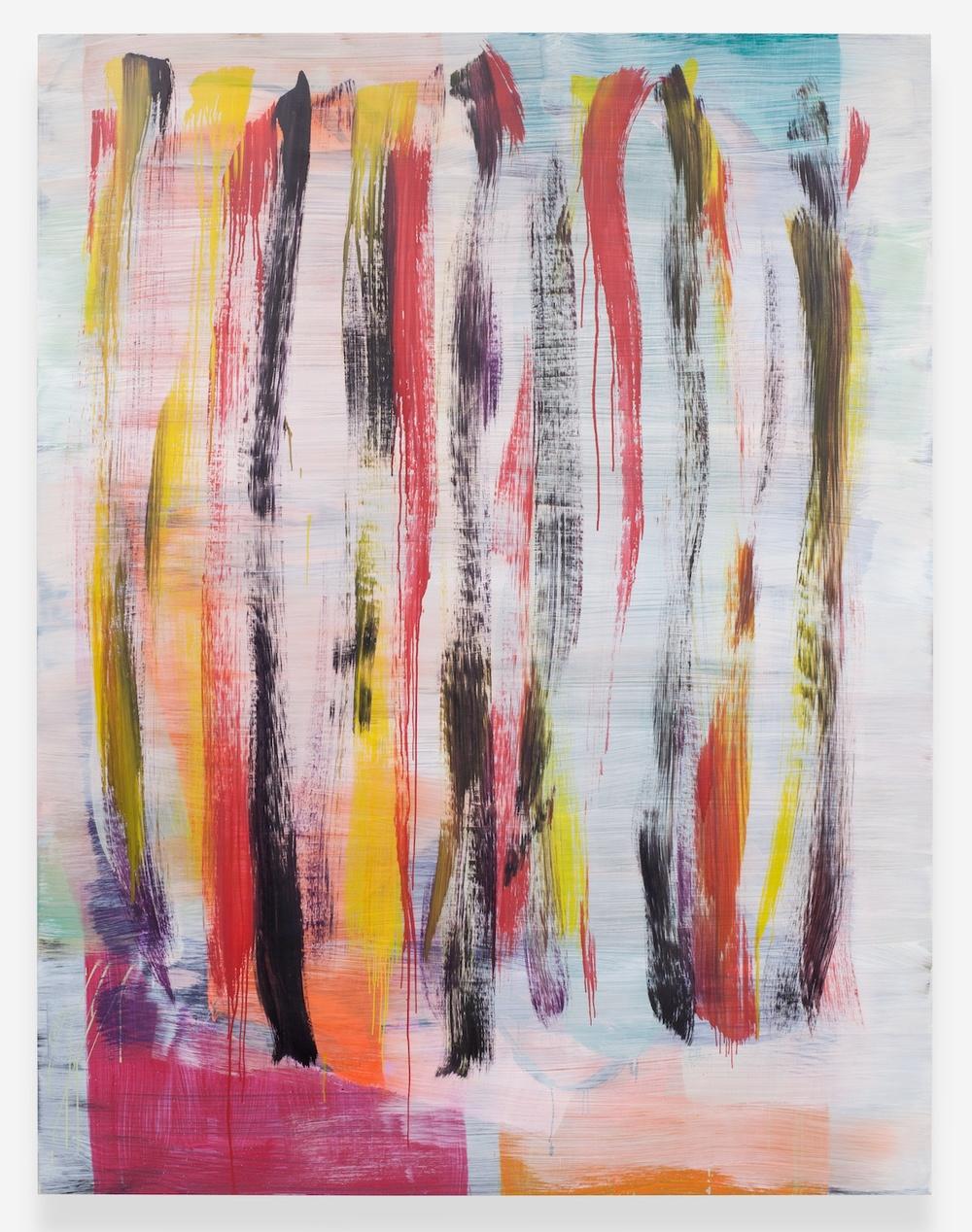 "Jon Pestoni Condiments 2013 Oil on canvas 78"" x 60"" JP130"