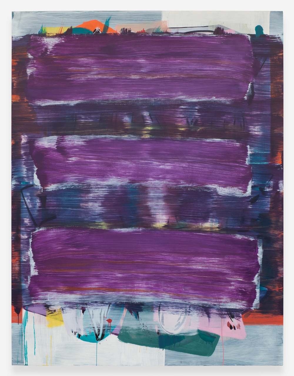 """Jon Pestoni Room for Error 2013 Oil on canvas 78"""" x 60"""" JP131"""