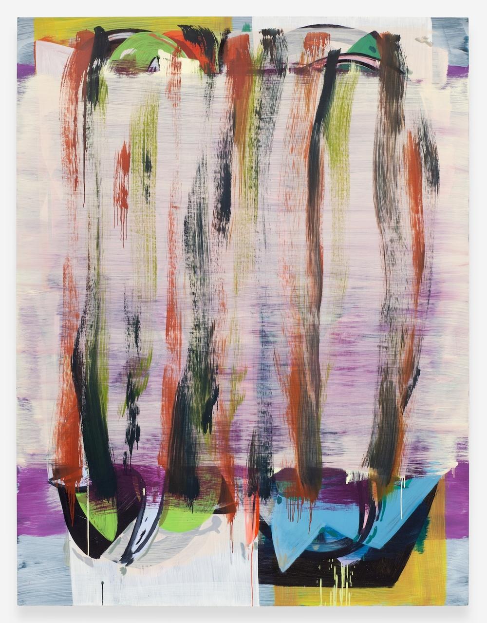 """Jon Pestoni Water Closet 2013 Oil on Canvas 78"""" x 60"""" JP132"""