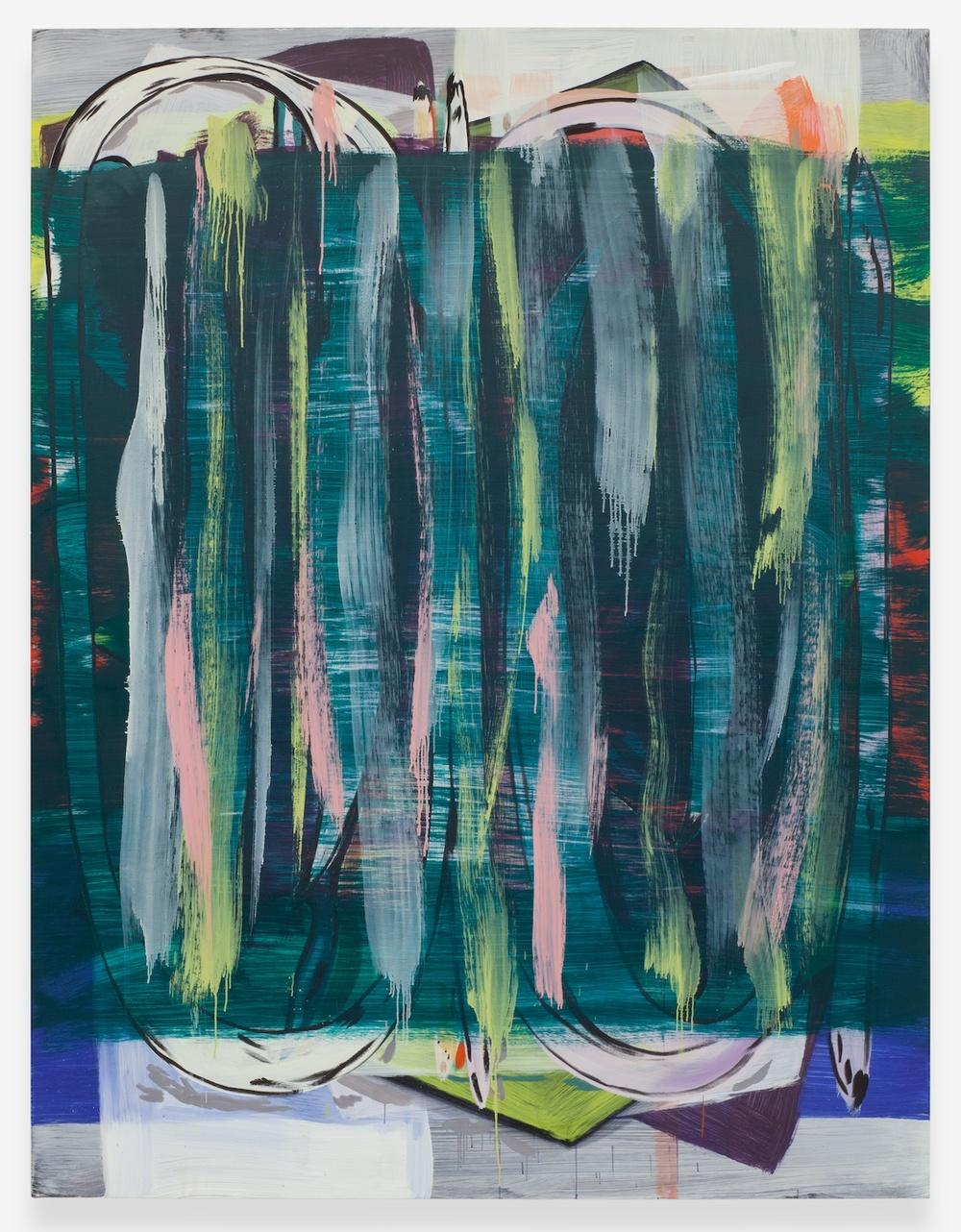 """Jon Pestoni Sea Legs 2013 Oil on canvas 75"""" x 51 3/4"""" JP133"""