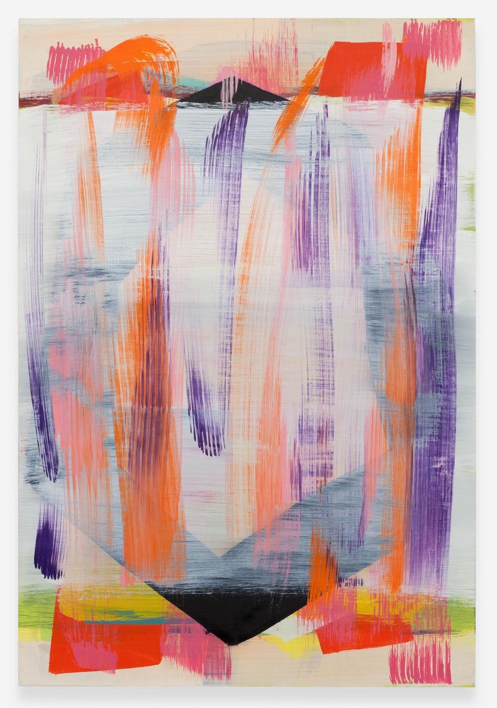 "Jon Pestoni Too Far Far 2013 Oil on canvas 45"" x 31"" JP134"