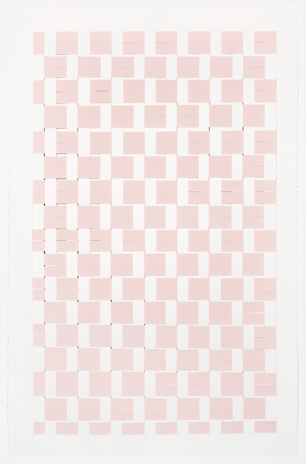 Michelle Graber  Untitled  2013 Paper and Color-aid 40h x 26w in MGrab308