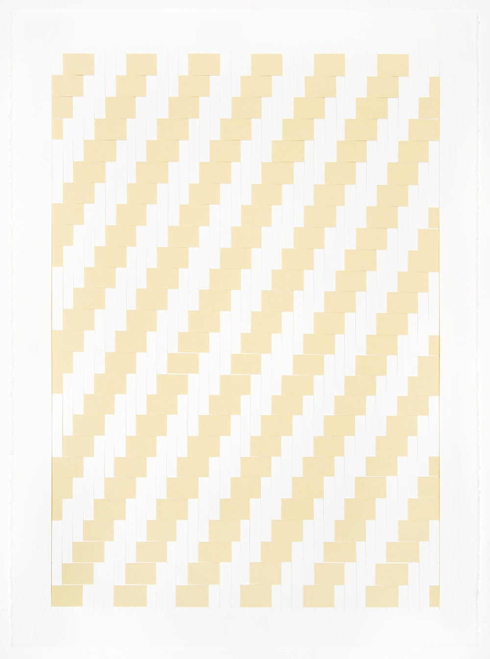 Michelle Graber  Untitled  2013 Paper and Color-aid 30h x 22w in MGrab320
