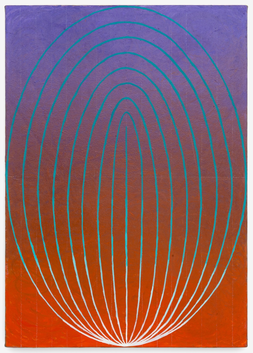 "Philip Hanson Oval 1 2012 Oil on canvas 34"" x 24"" PHan004"