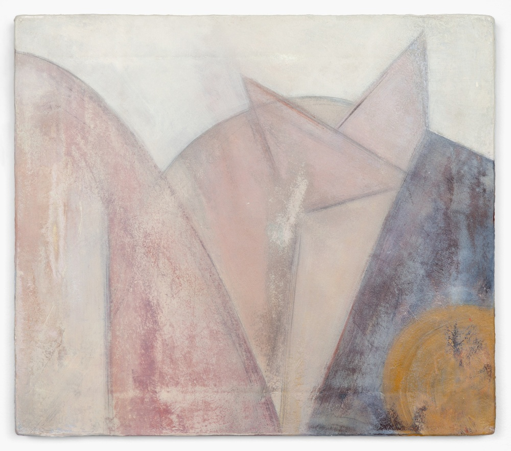 "Lily Ludlow Margaret 2012 Acrylic, graphite, and gesso on canvas 14 1/4"" x 16"" LL002"