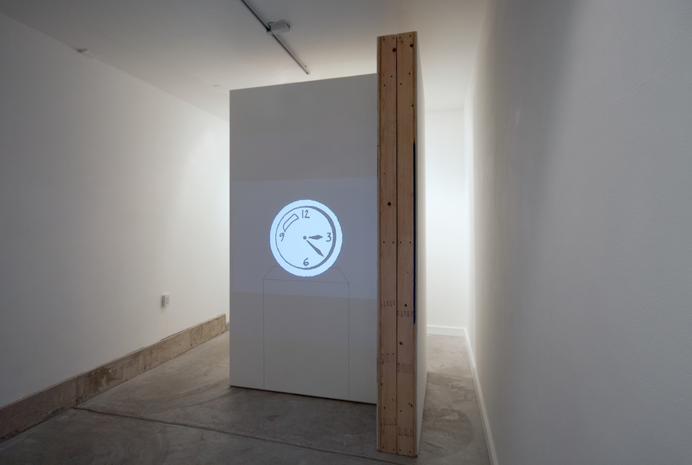 Brendan Fowler, Mark Leckey 2012 Shane Campbell Gallery, Oak Park Installation View