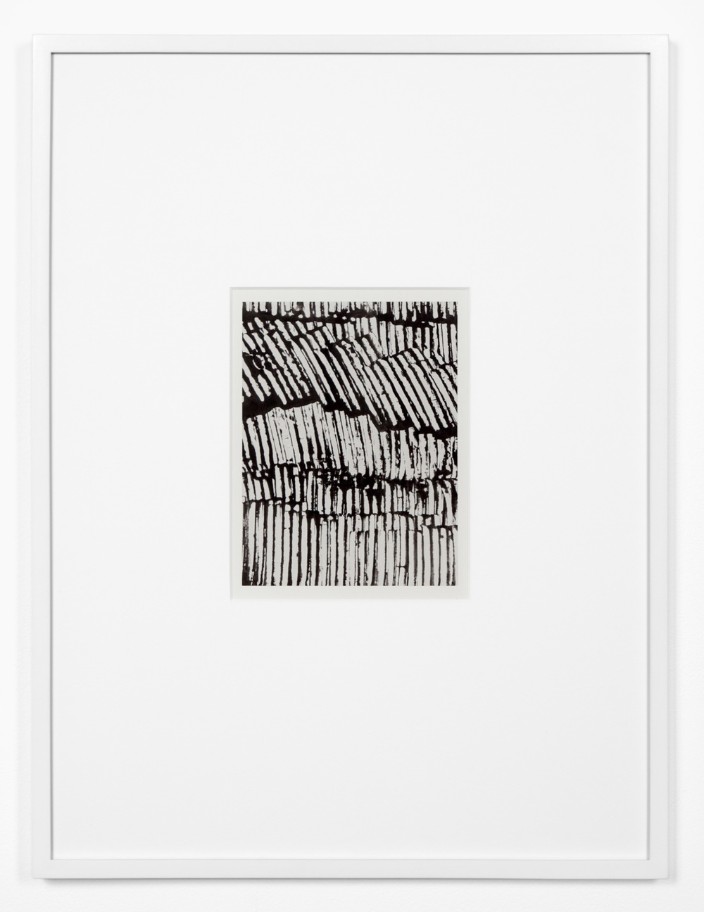 "Anthony Pearson Untitled (Solarization) 2012 Framed solarized silver gelatin photograph 17"" x 12 3/4"" x 1"" AP316"