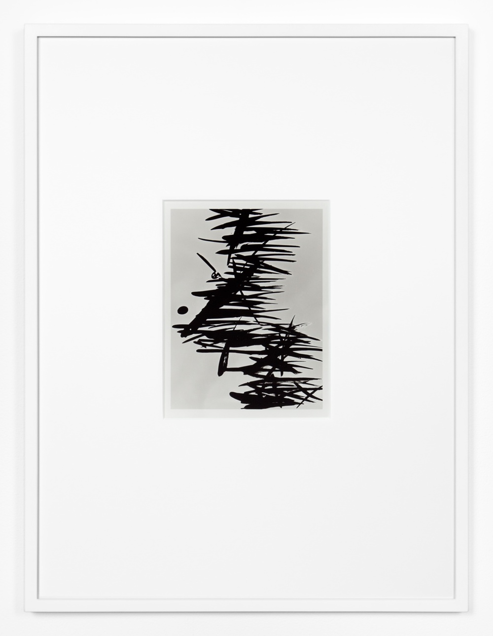 Anthony Pearson  Untitled (Solarization)  2012 Framed solarized silver gelatin photograph 17h x 12 ¾w x 1d in AP318