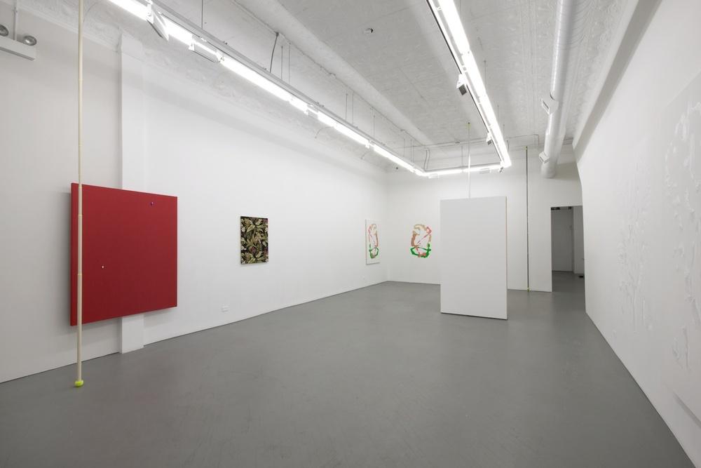Paul Cowan, Brendan Fowler, Chadwick Rantanen, Dan Rees 2012 Shane Campbell Gallery, Chicago Installation View