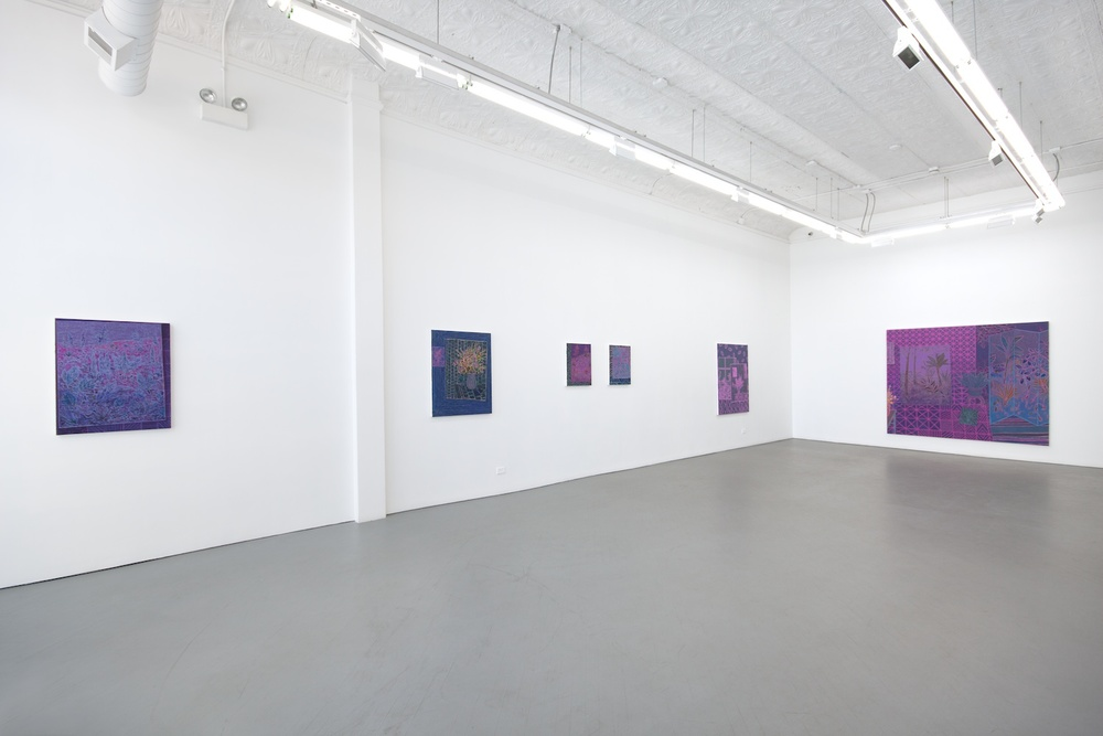 John McAllister starry sudden without blares 2012 Shane Campbell Gallery, Chicago Installation View