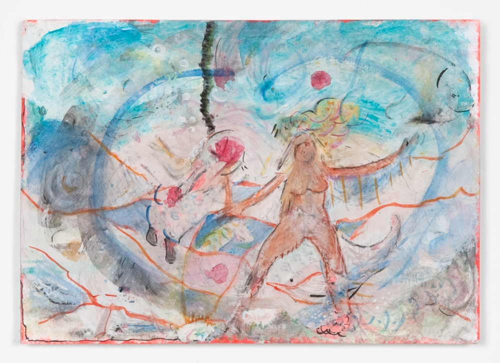 Helena Huneke  The Mystery of the Seacrow  2012 Gouache, watercolor, and ink on paper 5 ⅞h x 8 ¼w in HH007