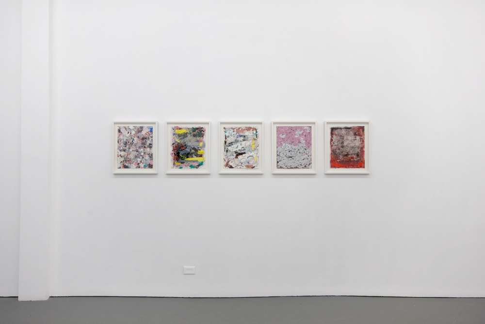Verena Dengler, Ellen Gronemeyer, Helena Huneke, Alex Olson 2012 Shane Campbell Gallery, Chicago Installation View