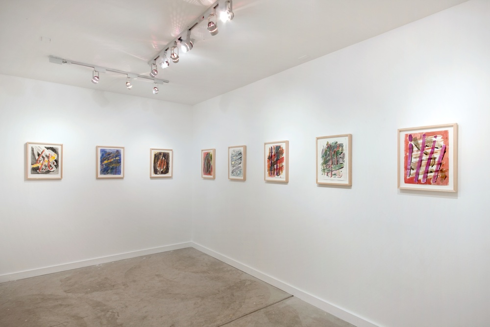 Jon Pestoni Works on Paper 2012 Shane Campbell Gallery, Oak Park Installation View