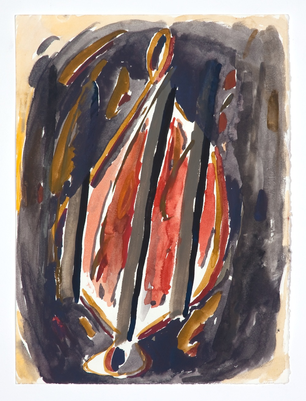 Jon Pestoni  Untitled  2009 Gouache on paper 15h x 11w in JP059